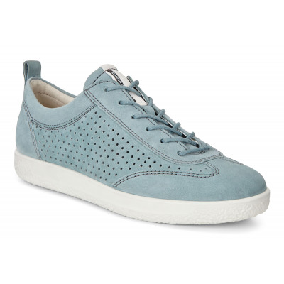 ECCO Soft 1 Ladies Sneakers Blå