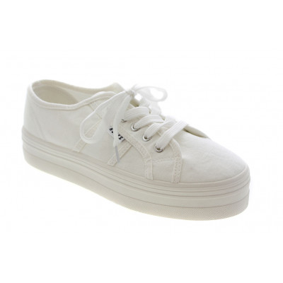 Roots Plateau Sneakers i Hvid