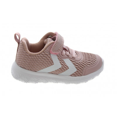 0f605acacd1 Actus ML Infant Pale Lilac baby sko sneakers fra Hummel i rosa Lyserød