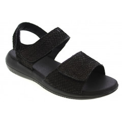Green Comfort Sandal Sort Laks