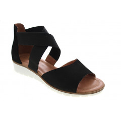 Softwalk Kryds Sandal Sort