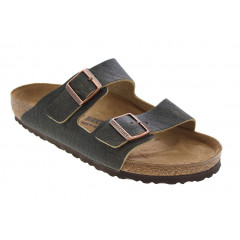 Birkenstock Arizona Rivet Logo Vintage Brown