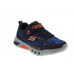 Skechers S Lights Flex Glow Rondler Blå Orange
