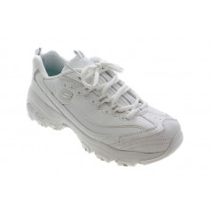Skechers D'Lites Fresh Start Sneakers i Hvid