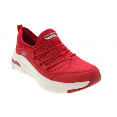 Skechers Arch Fit Lucky Thoughts Rød