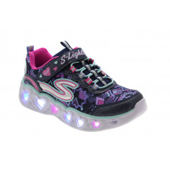 Skechers Heart Lights Blå