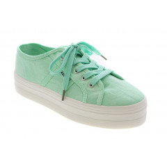 a2c9780593f8 Roots Plateau Sneakers i Neon Grøn