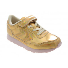 Hummel Reflex Metallic JR Gold Sneakers